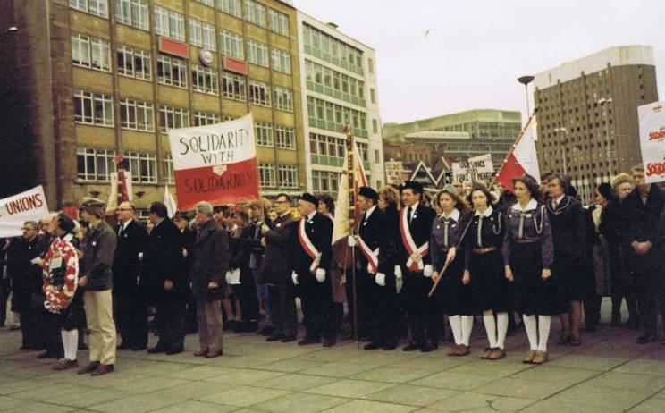 Bristol 31.1.1982. Solidarity with Solidarnosc